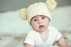 Lovable baby Royalty Free Stock Images