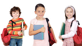 Lovables students childrens Stock Photography