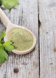 Lovage Powder Royalty Free Stock Images