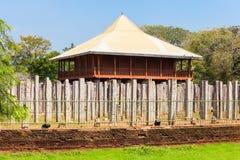 Lovamahapaya Anuradhapura, Σρι Λάνκα Στοκ Εικόνα