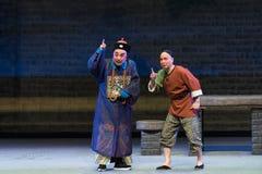 """Lovat den dag-Shanxi Operatic""""Fu Shan till Beijing† Royaltyfria Bilder"""