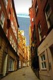 Lovat pas ruchu w mieście Londyński Anglia Zjednoczone Królestwo Obraz Royalty Free