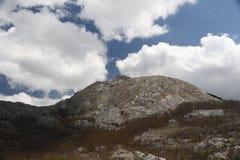 lovcen мавзолей montenegro Стоковые Фотографии RF