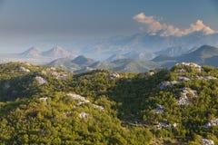 lovcen национальный парк montenegro Стоковое Изображение