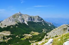 Lovcen Mountain - Montenegro. Photo of Lovcen Mountain in a sunny day/morning - Kotor - Montenegro - July 2010 royalty free stock images