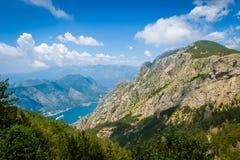 Lovcen mountain range Stock Image