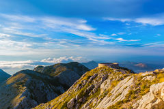 Lovcen Mountains National park at sunset - Montenegro Royalty Free Stock Photography