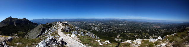 Lovcen Summit Royalty Free Stock Photos