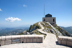 Lovchen mausoleum, Montenegro Stock Photo