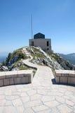 Lovchen, Montenegro. The mausoleum of Lovchen in Montenegro Stock Photography