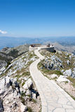 Lovchen, Montenegro. The view point of Lovchen in Montenegro Stock Photos