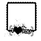 LoveÂs Rahmen Lizenzfreie Stockbilder