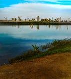 Love湖迪拜的部分 图库摄影