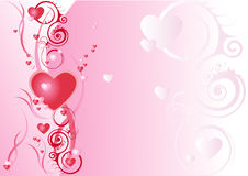 Love 1. Abstract backgrounds art ornate love rose decor Royalty Free Stock Photo