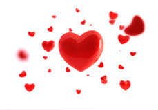 In love. Chosen a heart, of all hearts, love clean Stock Images