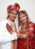 We are in love. A happy Indian couple showing their love and affection Royalty Free Stock Image
