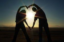 LOVE. Africa, Egypt, Honeymoon Stock Images