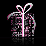 Love. Gift. Present for Royalty Free Stock Photo