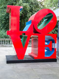 Love. By Robert Indiana number 2 of 5 editions,This edition is situated at St James's Place London England Royalty Free Stock Image