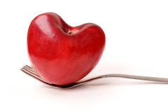 Love. Art food background: lose weight Royalty Free Stock Photos