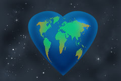 Love 4 Earth Stock Photos