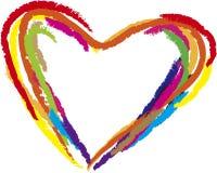 Love. Of heart shape Stock Photo