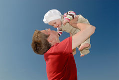 In love. Mother with baby Royalty Free Stock Photos
