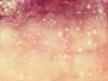 Love abstract background shiny stars colorful blurs Stock Photography