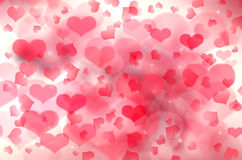 Love abstract background shiny stars colorful blurs. Abstract background love colorful pink blurs with shiny stars Royalty Free Stock Image