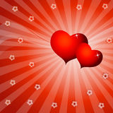 Love abstract design stock images