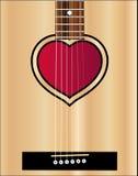 Love Acoustic Guitar Stock Photos