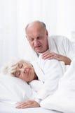 Love in advanced age Stock Photo