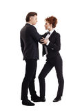 Love affair at work. Business concept royalty free stock photo