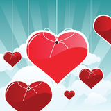 Love is in the Air Royalty Free Stock Photography