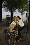 Love is in the air in Amsterdam,Netherlands Royalty Free Stock Images
