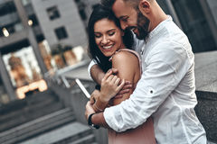 Love is in the air. Royalty Free Stock Image