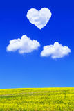 Love is in the air Stock Images