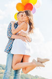 Love is in the air. Royalty Free Stock Photo