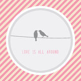 Love is all around2 Royalty Free Stock Photography