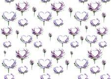 Love is all around seamless pattern stock illustration