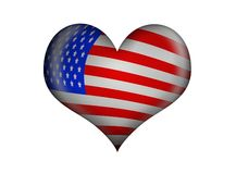 Love america Royalty Free Stock Image
