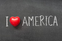 Love America Royalty Free Stock Photos