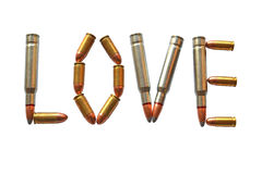 Love ammunition Royalty Free Stock Photo
