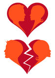 Love And Broken Heart, Stock Photography