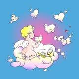 Love angel Stock Photo