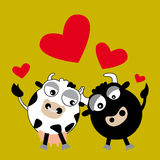 Love Animals (vector) Stock Images
