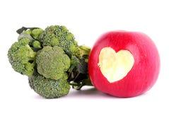 Love apple Royalty Free Stock Image