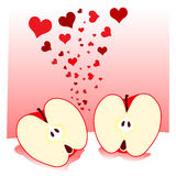 Love apple Stock Photos