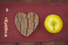 We love apple. Royalty Free Stock Photography