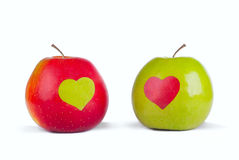 Love apples Royalty Free Stock Image